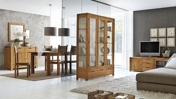 деревянный шкаф комод стол и стулья из коллекции Elephant