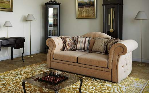 диван тирадор в классическом стиле для гостиной
